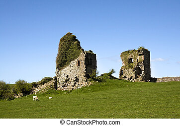 Gleaston Castle in Cumbria