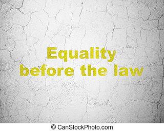 gleichheit, wand, hintergrund, politik, gesetz, concept:, vorher
