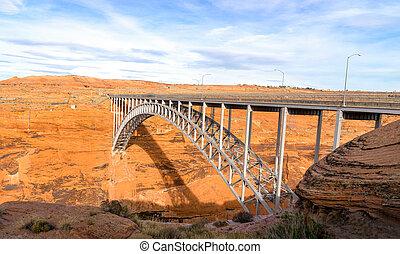 Glen Canyon Dam Bridge, Arizona, USA