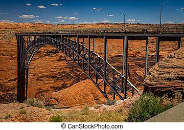 Glen Canyon Dam Bridge Page Arizona