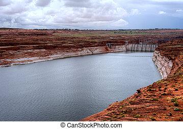 Glen Canyon Dam Lake Powell