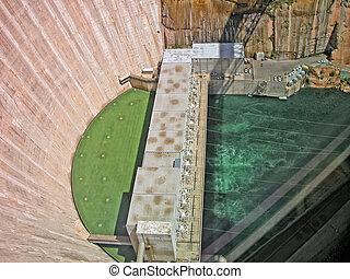 Glen Canyon Dam near Lake Powell, Arizona