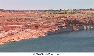 Glen Canyon Dam, Lake Powell, pan
