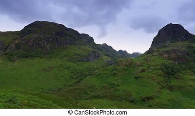 glen, eingestuft, schottland, -, version, etive