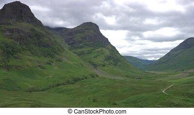 Glen Etive Mountains, Scotland - Ungraded Version - Ungraded...