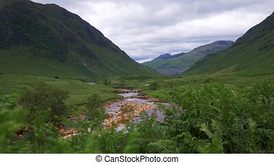 glen etive, schottland, -, eingestuft, version