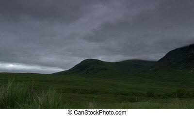 Glen Etive, Scotland - Native Version - Native Material,...