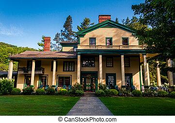 Glen Iris Inn, at Letchworth State Park, New York.