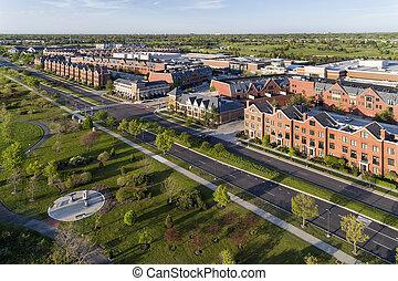 Glen Town Center Patriot Aerial