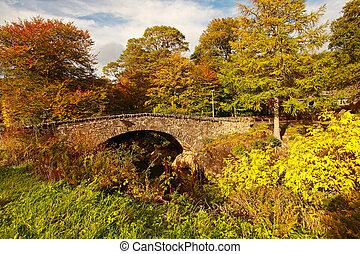 Glencoe in October, Scottish highlands, Scotland, UK