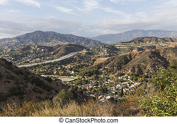 Glendale Hills near Los Angeles California