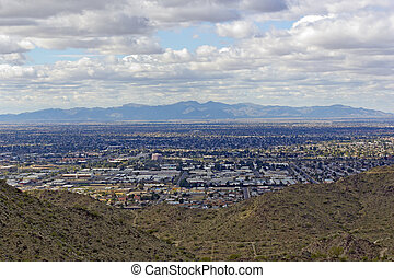 West side of Valley of the Sun – Glendale, Peoria and Phoenix; Arizona