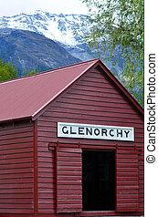 Glenorchy - New Zealand NZ NZL - GLENORCHY, NZ - JAN 13:An...