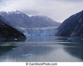 gletscher, alaska