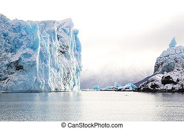 gletscher, argentinien, perito, moreno