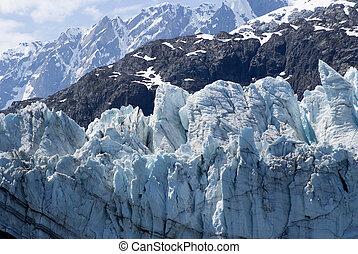 gletscher- bucht, alaska