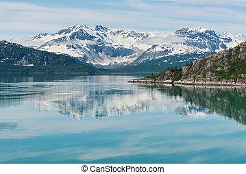 gletscher- bucht