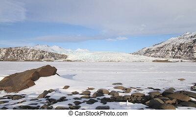 gletsjer, aanzicht