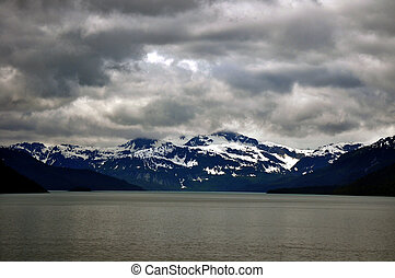 gletsjer nationaal park, bergen