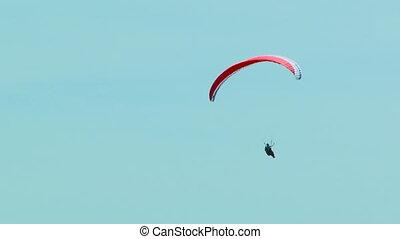 Gliding in the sky