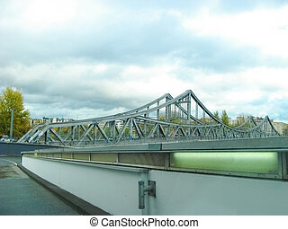 glienicker, ボート, 押し, 橋
