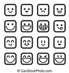 glimlachen, pictogram
