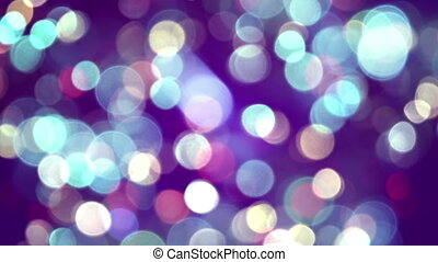 glimmer blurred circle lights loop - glimmer blurred circle...