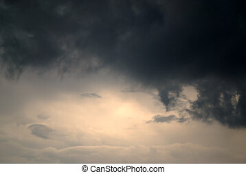 Glimmer of Hope - A glimmer of hope shines through as dark &...