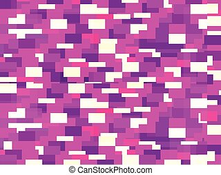Glitch background. Signal error pixel mosaic. Ultraviolet...