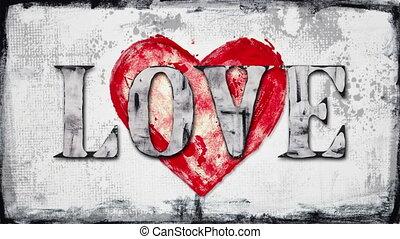glitch love inscription loop - glitch love inscription....