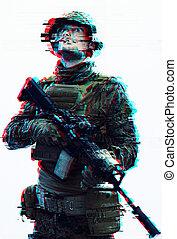 glitch, soldat