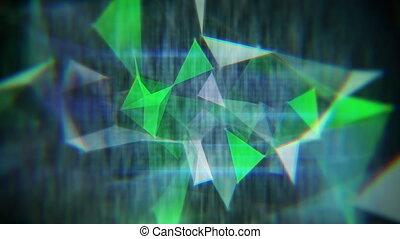 glitch techno background seamless loop - glitch techno ...