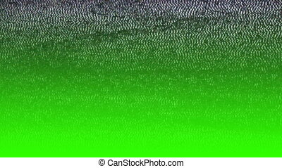 Glitch TV picture
