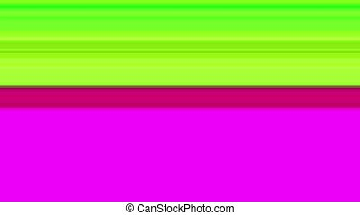 Glitch TV Screen. Colourful Stripes on a Purple Background -...