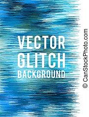 glitch, vecteur, fond