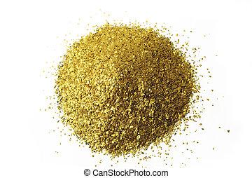 glitter background placer gold