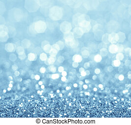 Glitter background. - Abstract blue glitter background....