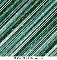 Glitter green seamless pattern with diagonal stripe