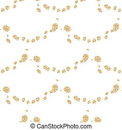 Glitter shimmery fish scale white seamless vector pattern....