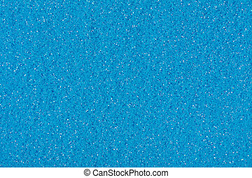 Glitter texture in blue color, background for your Christmas design.