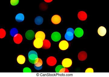 Glittering dots