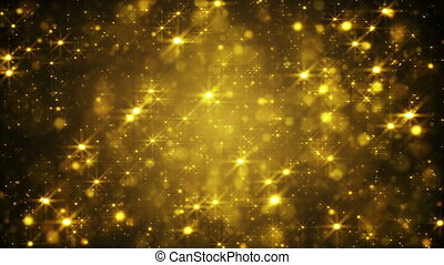 glittering golden dust loop back - glittering golden dust. ...