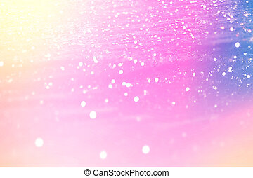 Glittering gradient background with hologram effect and...