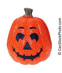 Glittering Jack - Glittering halloween jack o lantern...