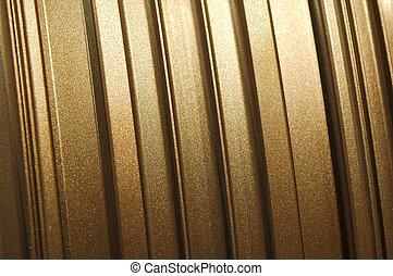 glittering metal