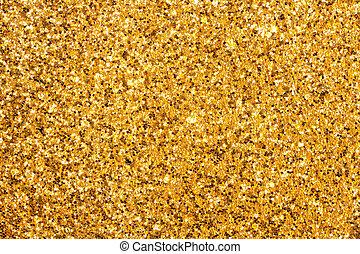 Glittering pattern - Detailed texture of glittering golden...