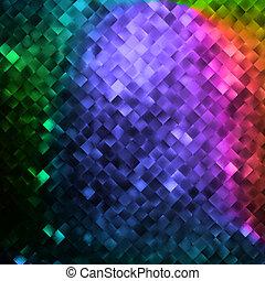 Glitters on a soft blurred background. EPS 10