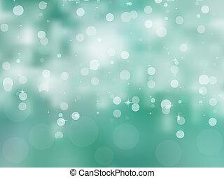 Glittery blue Christmas background. EPS 8