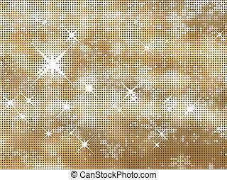 Glittery gold background