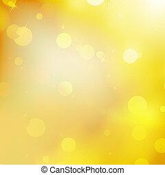 Glittery gold Christmas background. EPS 10